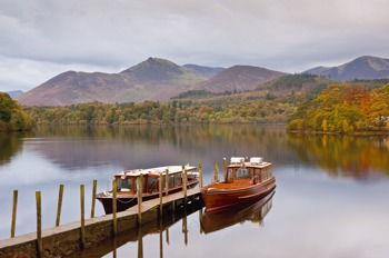 Boats on Derwentwater