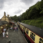 Haverthwaite Train