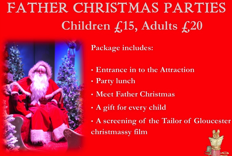 2018 Father Christmas Tea Parties