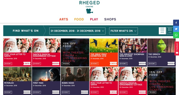 Christmas at the Rheged Centre 2018