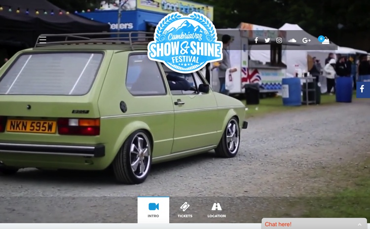 CumbriaVAG Show & Shine Festival, Westmorland County Showground, Nr Kendal, June 2018
