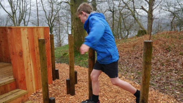 Natural Play Trail, Wray Castle, Near Ambleside