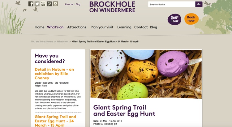 Giant Spring Trail and Easter Egg Hunt 2018