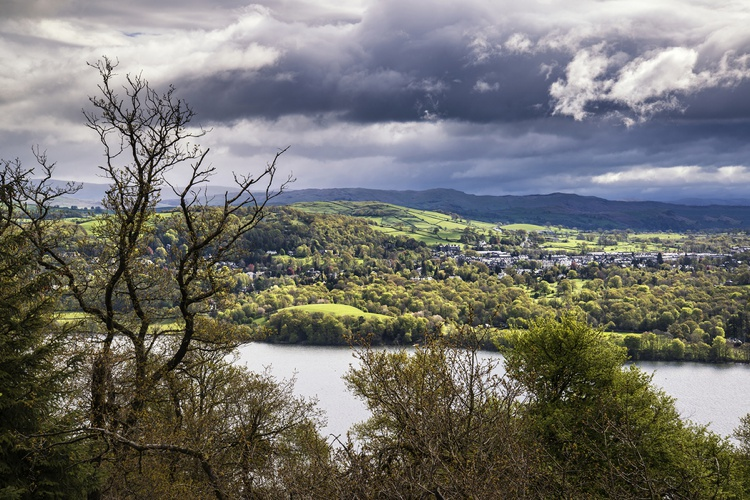 Claife Heights Overlooking Lake Windermere