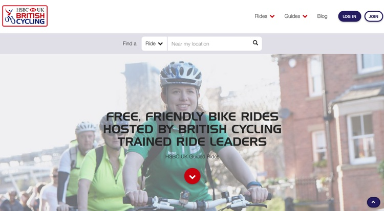 Guided cycle rides 2018 HSBC