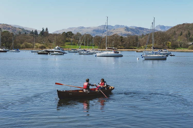 Row Boats in Lake Windermere