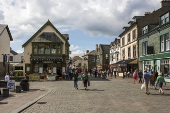 Keswick's town centre