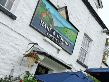 The Hare and Hounds Outside