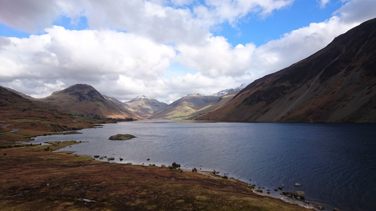 Wastwater from the Hiker's Shelter