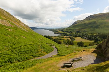 View of Ullswater from Hallin Fell