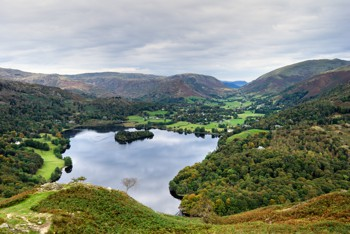 View of Grasmere from Loughrigg