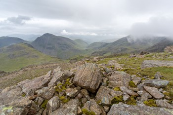 On route to Scafell Pike