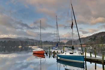 Boats at Waterhead, Ambleside