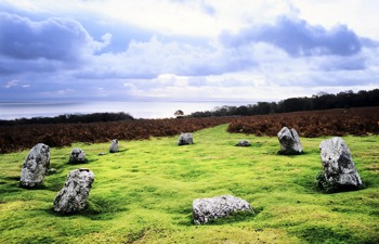 Stone circle on Birkrigg Common, Furness