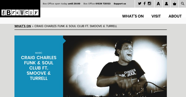 CraigCharles Funk & Soul Club Ft Smoove & Turrell