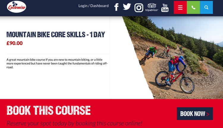 Cyclewise One Day Mountain Bike Course Feb 2019