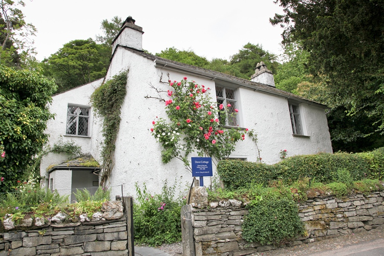 Dove Cottage in Grasmere