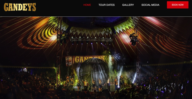 Gandey's Circus in Kendal May 2019