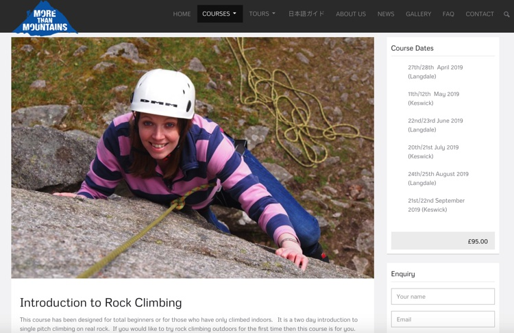 Introduction to Rock Climbing May 2019