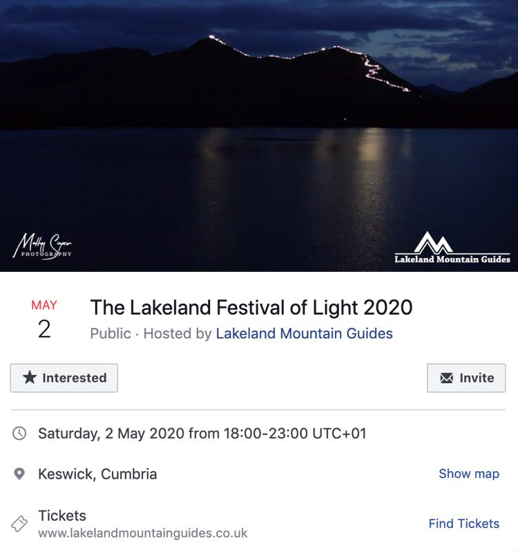Lakeland Festival of Lights 2020