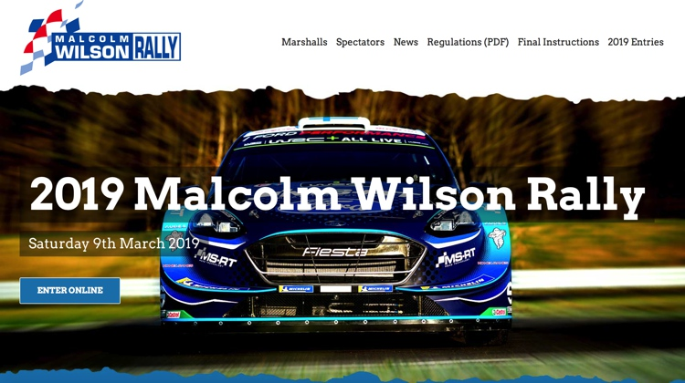 March 2019 Malcolm Wilson Rally