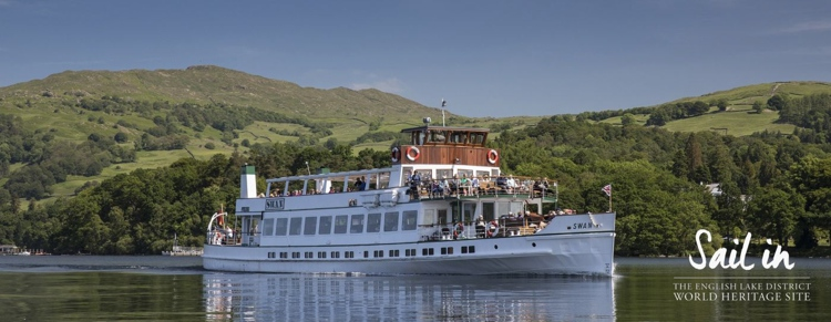 Queen of the Lake on Windermere