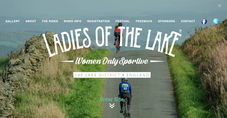 September 2019 Ladies of the Lake cycling event