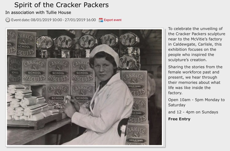 Sprit of the Cracker Packers at the Old Fire Station