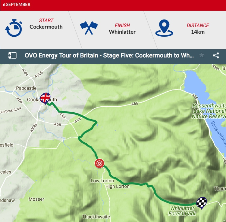 Tour of Britain 2018: Stage 5