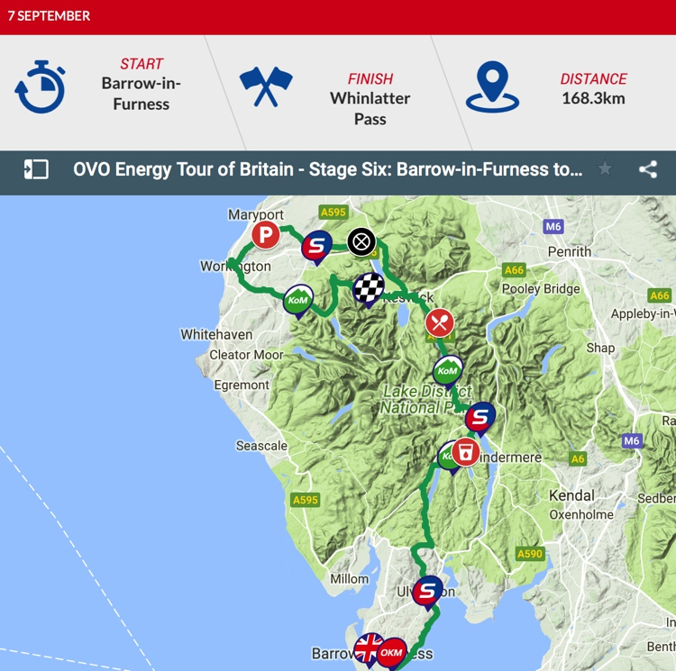 Tour of Britain 2018: Stage 6