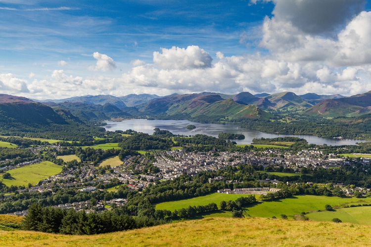 Views of Keswick & Derwent Water from Latrigg
