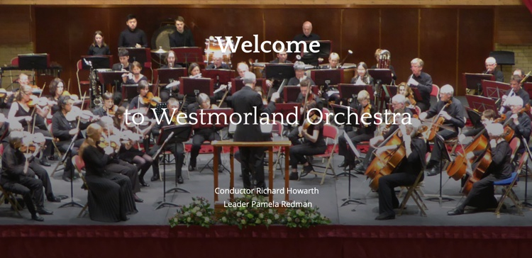 Westmorland Orchestra Classical Concert May 2019