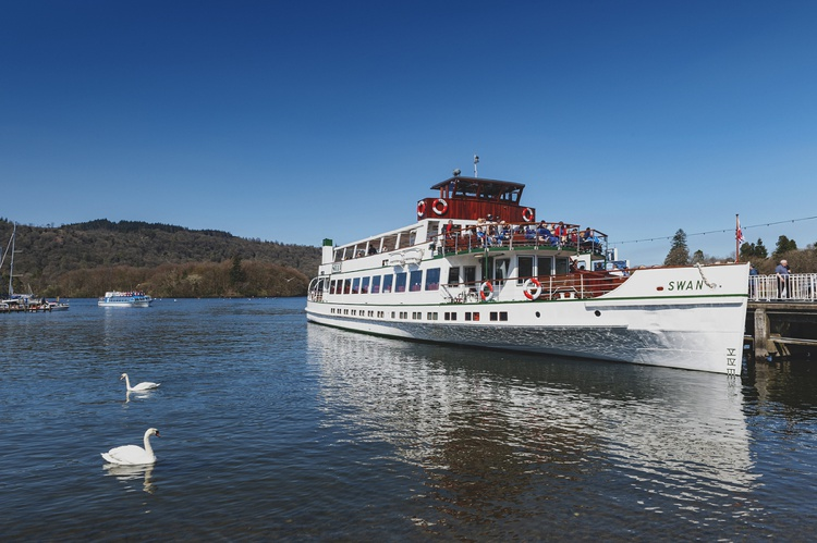 Windermere Cruises at Bowness Pier