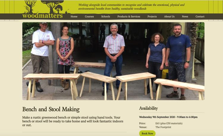 WoodMatters Workshops September 2020