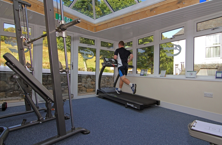 Sports Trek Gym Equipment at Embleton Spa Hotel