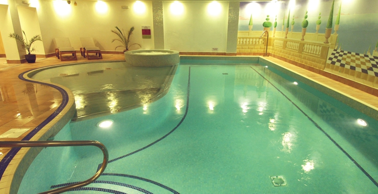 Sanctuary Health & Fitness Club Pool at the Riverside Hotel in Kendal