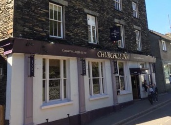 The Churchill Inn Outside