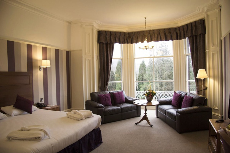 Rooms at Keswick Country House Hotel