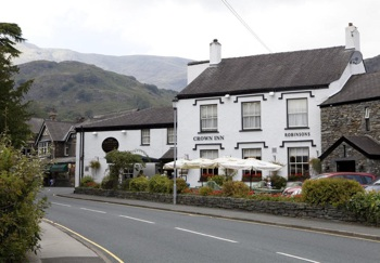 The Crown Inn Coniston Outside