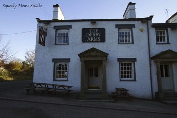 The Derby Arms (Witherslack) Outside