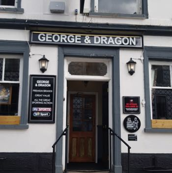 The George & Dragon (Kendal) Outside