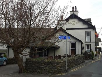 The Red Lion (Hawkshead) Outside