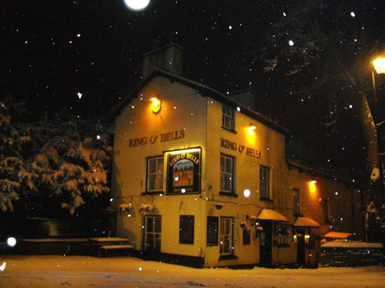 Ring O' Bells (Kendal) in the snow