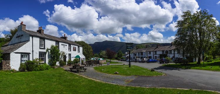The Screes Inn (Nether Wasdale) beer garden