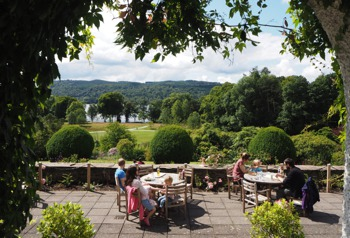 View from Brockhole Visitor Centre