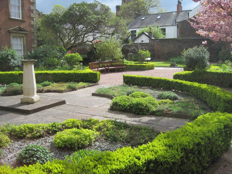 The Gardens of Tullie House Museum