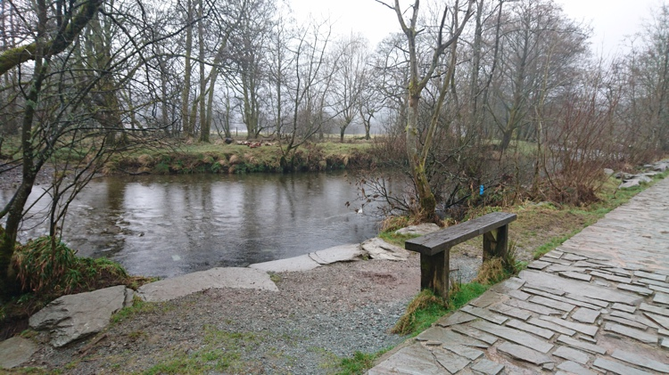 Bench by the River Brathay