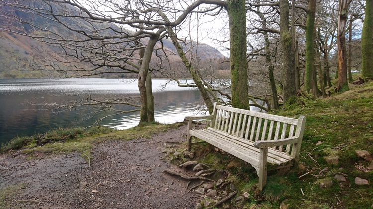 Bench Looking over Wastwater
