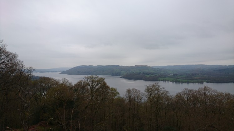 Lake Windermere from Jenkin Crag