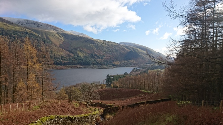 Thirlmere from the Track